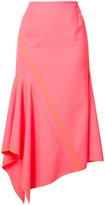 Jason Wu asymmetric skirt - women - Spandex/Elastane/Wool - 4