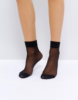 Jonathan Aston Jazz Black Ankle Socks