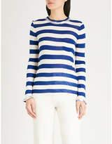 Zadig & Voltaire Reja striped jersey top