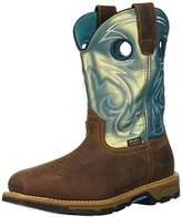 "Irish Setter Work Women's Marshall Waterproof Steel Toe 9"" Pull On Boot,9.5 B US"