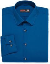 Jf J.Ferrar JF Long-Sleeve Easy-Care Solid Dress Shirt