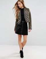 Free People The Only One Zipped Skirt