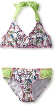 Hello Kitty Dot Kitty Triangle Bikini - Little Girl