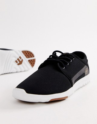 Etnies Scout sneakers in black