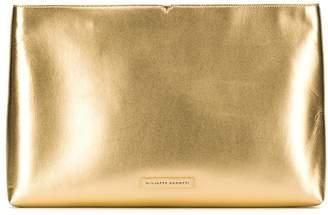 Giuseppe Zanotti oversized metallic clutch