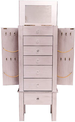 Asstd National Brand Hives and Honey Hannah White Jewelry Armoire
