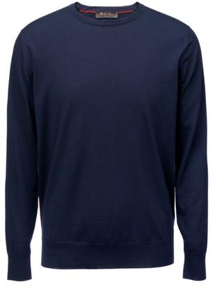 Loro Piana Wish Wool Crewneck Sweater