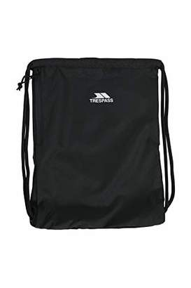 Trespass Unisex's STAPE Drawstring Bag with Side Zip Pocket. 33cm L & 44cm H