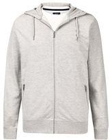Burton Mens Grey Zip Through Hoodie