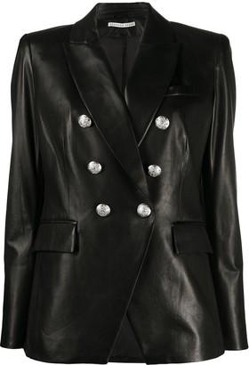 Veronica Beard Embossed Button Blazer