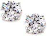 Nadri Large Cubic Zirconia Stud Earrings