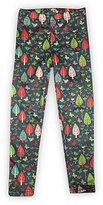 Urban Smalls Green Woodland Whimsy Leggings - Infant Toddler & Girls