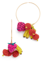 Mercedes Salazar Condongas Tropicalia Earrings