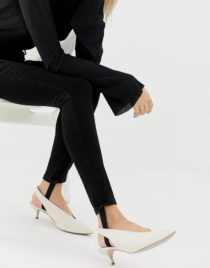 Only Denim Skinny Jeans With Stirrup