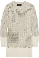 Line Bennet Open-Knit Sweater