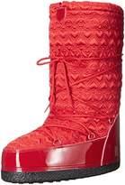 Love Moschino Women's Peace Moonboot Snow Boot,41 EU/11 M US