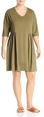 Junarose Plus Veronica V-Neck Shift Dress