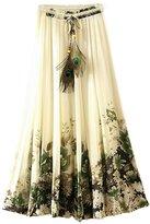 Eleter® Women's Chiffon Skirt Long Skirt Fit XS-M