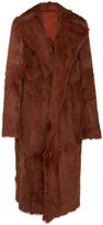 Tory Burch Anya Goat Fur Coat