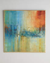 John-Richard Collection Blue Cascade Abstract Giclee