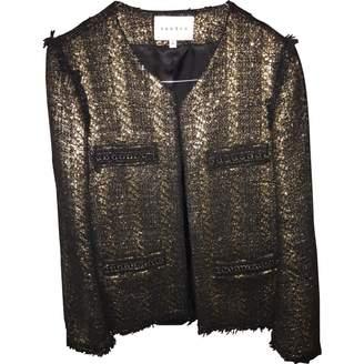 Sandro \N Gold Tweed Jackets
