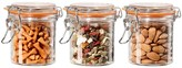 Oggi Glass Mini Canister Set - 3-Piece, 9 fl.oz.