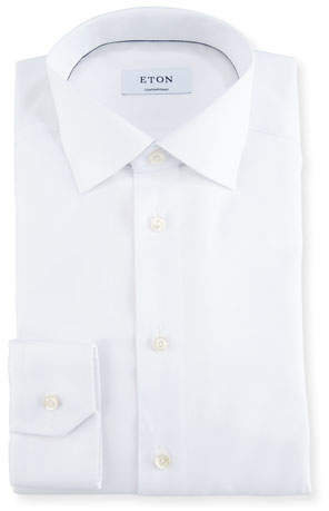 Eton Contemporary-Fit Textured Dress Shirt