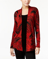 JM Collection Printed Layered-Look Top, Only at Macy's