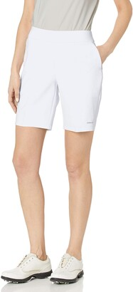 ANNIKA by Cutter & Buck Women's Moisture Wicking Drytec 50+ UPF Competitor Pull-on Short