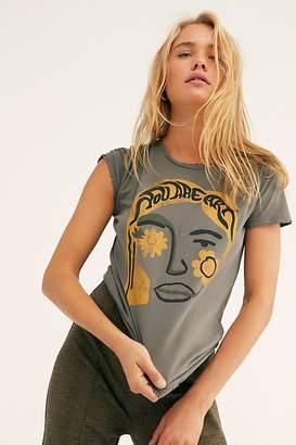 Free People Dazey La You Are Art Distressed Tee by Dazey LA at
