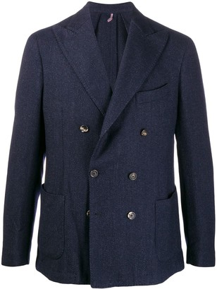 Dell'oglio Double-Breasted Blazer Jacket