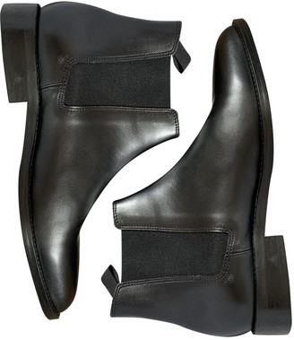 Sandro Fall Winter 2019 Black Leather Boots