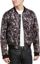 Versus By Versace Baroque Bomber Jacket