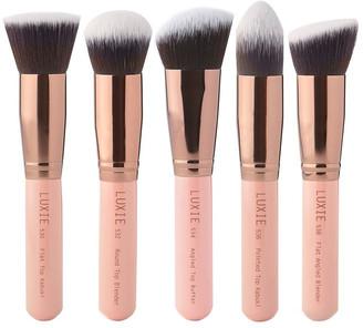 Luxie Kabuki Brush Set Rose