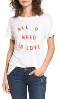Sub Urban Riot Women's Sub_Urban Riot All U Need Is Love Graphic Tee