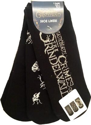 Game Of Thrones Licenced Ladies Girls Fantastic Beasts Crimes of Grindelwald Socks Shoe liners size UK 4-8 EUR 37-42