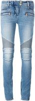Balmain skinny biker jeans - women - Cotton/Polyurethane - 34