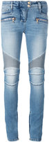 Balmain skinny biker jeans - women - Cotton/Polyurethane - 36