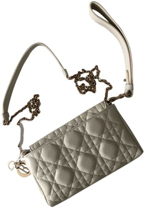 Christian Dior Miss Beige Leather Clutch bags