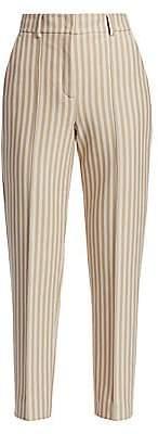 Akris Punto Women's Ferry Kodak Stripe Crop Pants