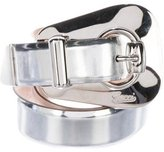 Gucci Metallic Leather Belt