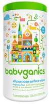 BabyGanics 75-Count Fragrance-Free All-Purpose Wipes
