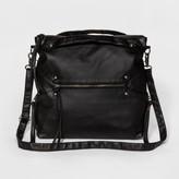 Mossimo Women's Convertible Tote Handbag Black
