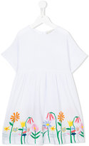 Stella McCartney embroidered flower dress