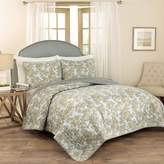 Waverly Traditions by 3-piece Tulip Toile Quilt Set