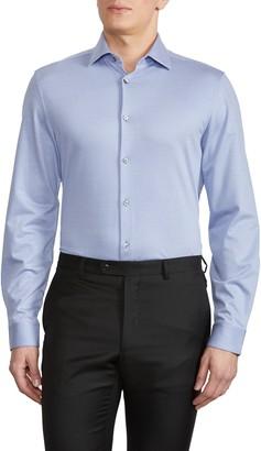 John Varvatos Slim Fit Stripe Dress Shirt