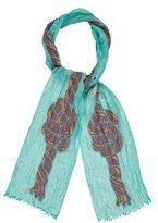 Vivienne Westwood Patterned Fine Knit Scarf