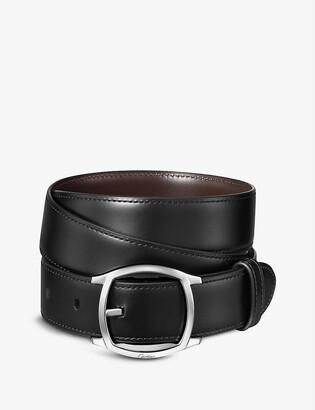 Cartier Drive de leather belt