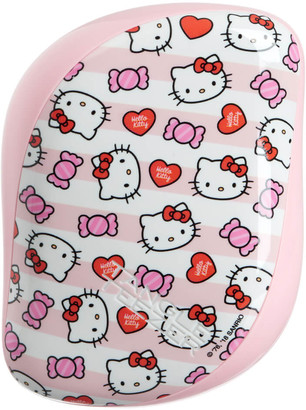 Tangle Teezer Compact Styler Hairbrush - Hello Kitty Candy Stripes