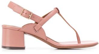 L'Autre Chose block heel T-bar sandals